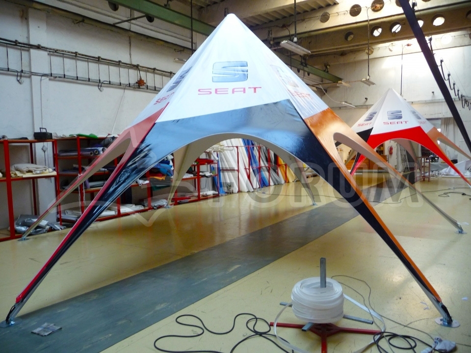 New line of Delta party tents