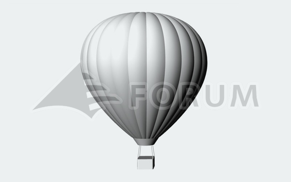 Flying in baloons