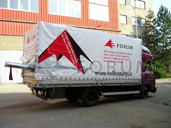 Vehicle tarps – manufacturing, printing, repairs