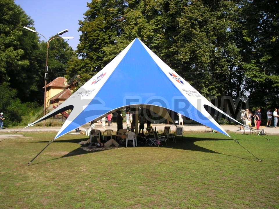 Photo gallery of rented tents & Renting Forum Delta party tents | Forum tents