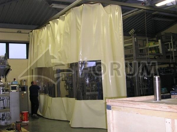 Dust Partitions Forum Tents